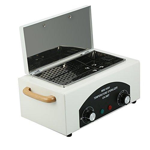 Autoklav Sterilisator, heiß trocknender Autoklav Wärmeschrank mit abnehmbarem Edelstahltank für Nägel, mit Zertifikat