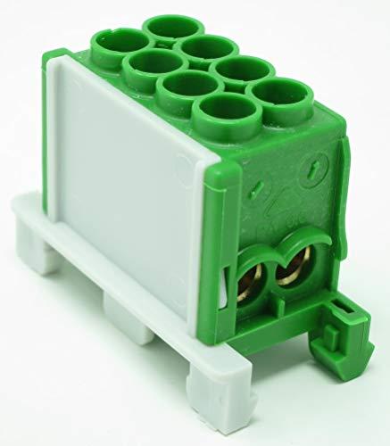 FTG KS251PE Hauptleitungs-Abzweigklemmen 1-polig 4x25 mm² grün