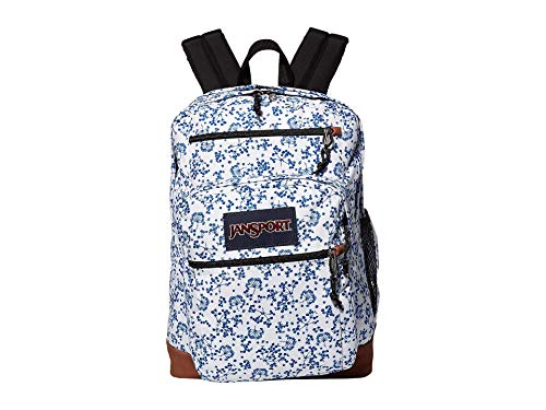 JanSport Cool Student White Field Floral 1 One Size
