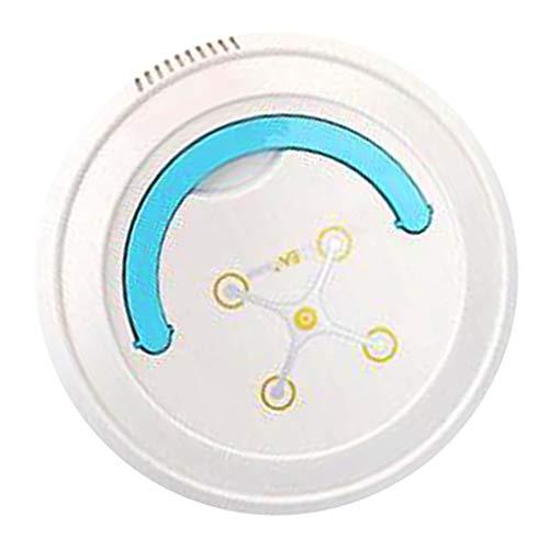 FLAMEER Robot Aspirador Tecnología Avanzada, Aspiradora, Barredora, Fregadora y Pasa Mopa USB Carga - Blanco