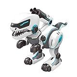TwoCC Dinosaure Radio Control,Dinosaure Mécanique Commande Vocale Voice Dinosaure Animal Robot Jouet Robot Dinosaure Puggy Jouet