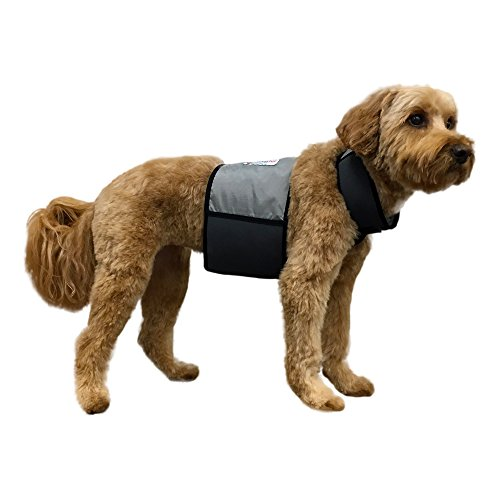 CoolerDog Dog Cooling Vest and Cooling Collar - Ice Vest for Dogs Medium (22' to 27' Girth)