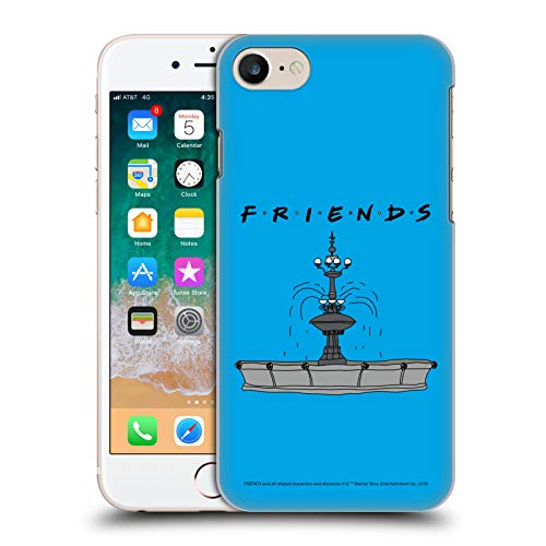 Head Case Designs Offizielle Friends TV Show Brunnen Ikonisch Harte Rueckseiten Huelle kompatibel mit Apple iPhone 7 / iPhone 8 / iPhone SE 2020