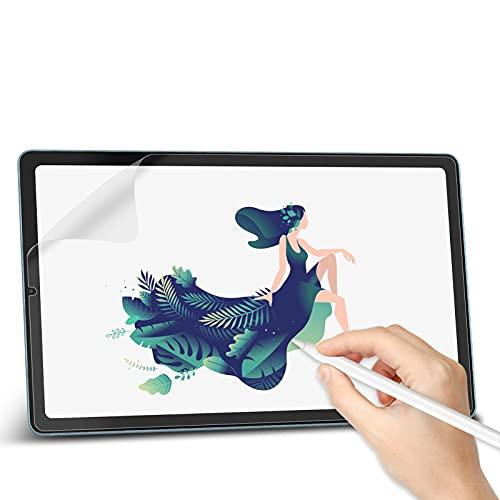Svanee Paper-Feel Matte Schutzfolie für Samsung Galaxy Tab S6 Lite 10.4 Zoll (SM-P610 / P615), [2 Stück] Anti-Reflexion & Blendfrei, Unterstützt Pencil, zum Schreiben, Zeichnen & Notizen machen