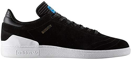 adidas Herren Busenitz Rx Skateboardschuhe, schwarz (Negbas/Ftwbla/Azucie), 43 1/3 EU