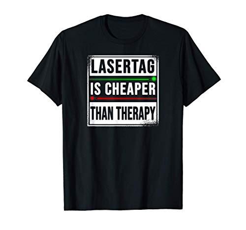 Lasertag Juego de láser-tag regalo gamer Lasertag Camiseta