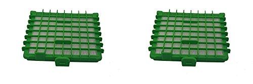 Green Label 2er-Pack HEPA Filter für Rowenta Silence Force Staubsauger (Vergleichbar mit ZR002901)