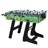JH 4 in 1 multifunknierte Tischspiel Tischkiker/Tischtennis/Air Hockey/Billard klappbar