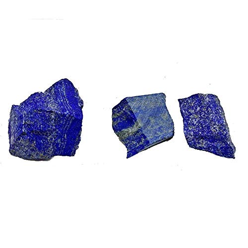NUJA 1Plack Natural Afganistán Lapis Lazuli Crystal Gemstone Mineral Piedra Curación de...