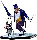 Iron Studios – Pingüino Ivan Reis Batman DC 18 cm Estatua 1/10 Resina – cómics...