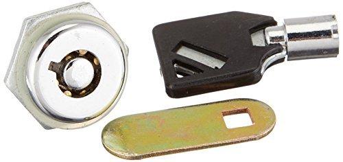 DealMux Mailbox gaveta do armário Armário quarto de volta Cam Lock com 1 Chaves