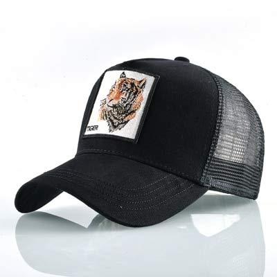 Verano Unisex Hip Hop Hombres Gorras de bisbol Mujeres Malla Transpirable Snapback Sombreros Hombres Gorras de Camionero Gorra-a10