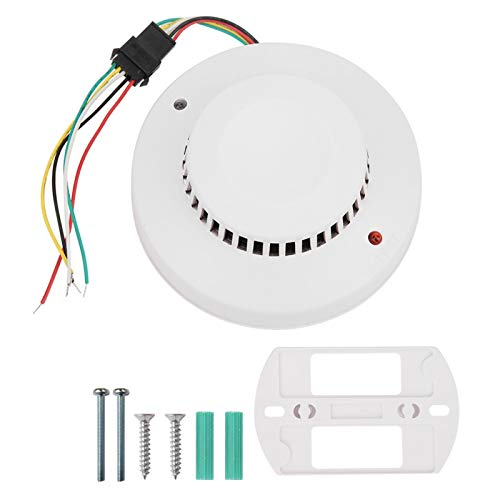 PBOHUZ Detector de Humo - Detector de Alarma de Detector de Incendios de Humo fotoeléctrico Inteligente Equipo de Calentamiento para la Seguridad del hogar