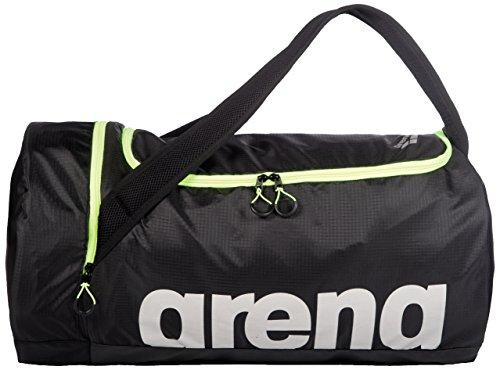 Arena Fast Duffle Bolsa de natación arena Fast Duffle 40L, Unisex Adulto, Yellow Black, TU