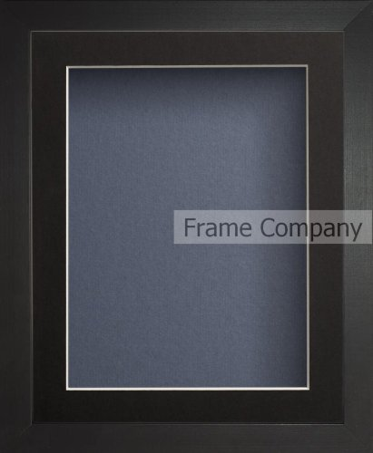 Radcliffe Wooden Deep Box 3D Frame with Black Mount * Choice of Sizes* NEW