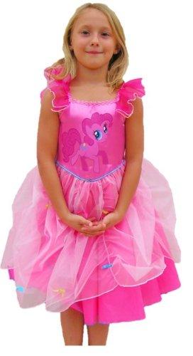My Little Pony - 154539S - Disguise - Set Pinkie Pie Princess - Taglia 3-4 Anni