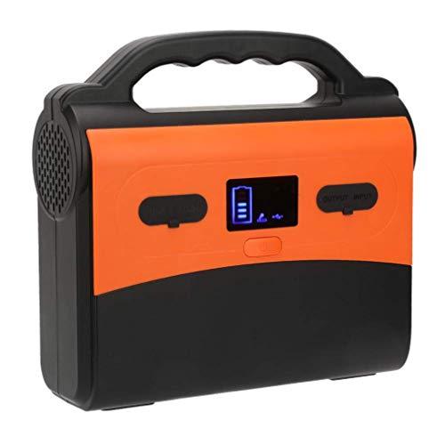 CHRYS Tragbarer Solargenerator 220W / H Solarbetriebener Generator Kit Mobiles Netzteil 100-240V für Camping im Freien Camping Angeln Notstromgenerator Kit