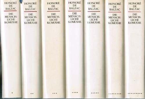 Die menschliche Komödie (Gesamtausgabe in zwölf Bänden )