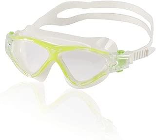 Speedo Junior Hybrid Swim Mask, Lime Green
