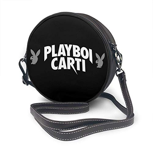 Yuanmeiju Bolso de hombro redondo Playboi Carti Round Single Shoulder Bag