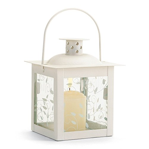 20 Wholesale Small White Lantern Wedding Centerpieces