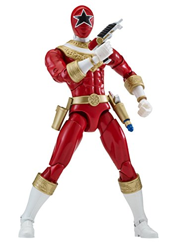 Power Ranger 6.5' Legacy Action Figure, Zeo Red