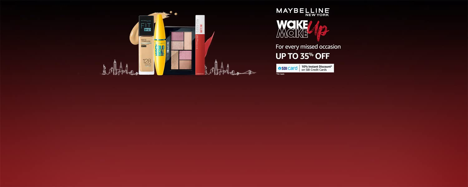 Amazon Offers Today-Coupons-Promo Codes - Avail Up to 35% OFF on Makeup Products