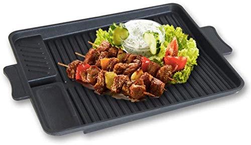 Wzmdd antistick koolstofstaal grillpan voor gezonde lage-vet koken voor BBQ Camping koken op de kookplaat Biscuit Oven lade voor koekjes koekjes Flapjacks gebakken taarten