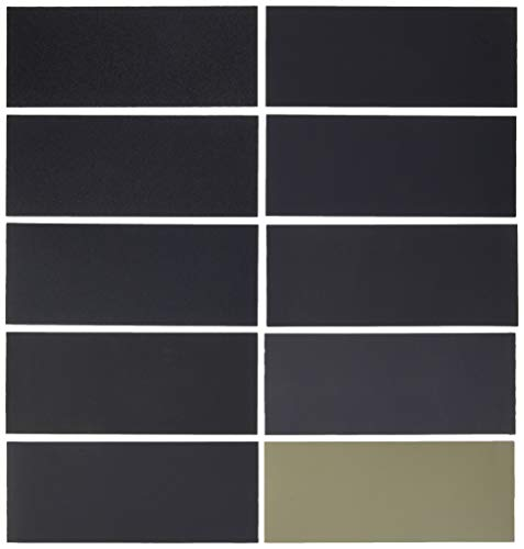 Dura-Gold Premium - Wet or Dry - Variety Pack - 3-2/3' x 9' Sheets -...