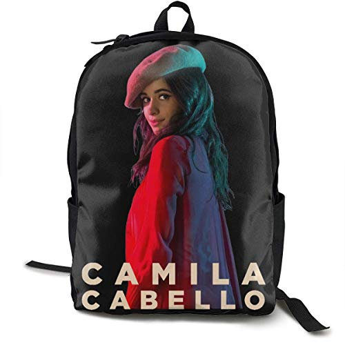 Mochila Mochila de Viaje Camila Cabello Backpack Campus School Bag Casual Backpack Gym Travel Hiking Canvas Backpack