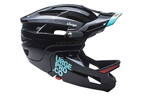 Urge Gringo de la Pampa Nero L/XL Casco integrale per mountain bike adulto Unisex