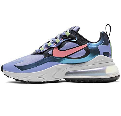 Nike Womens Air Max 270 React Womens Casual Running Shoes Cu4818-001 Size 7