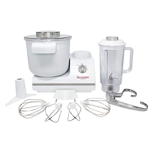 WONDERMILL - Complete Bread Dough Mixer Machine with Dough Hook - Bread Kneader and Dough Maker - Dough Kneading Machine - Upgraded Wondermix Revolution Kitchen Mixer by Wondermill