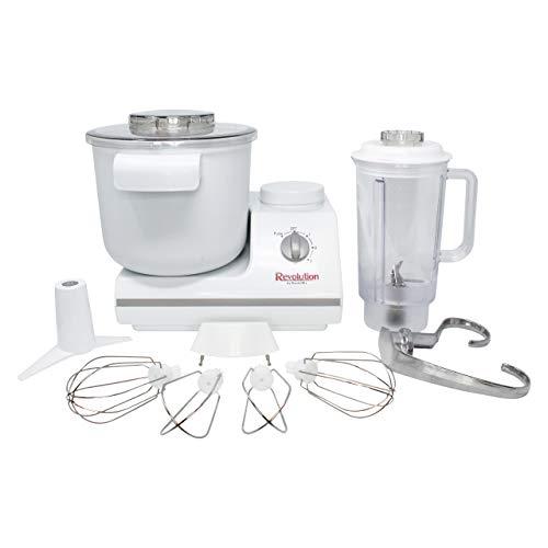 Complete Bread Dough Mixer Machine with Dough Hook - Bread Kneader and Dough Maker - Dough Kneading Machine - Upgraded Wondermix Revolution Kitchen Mixer by Wondermill