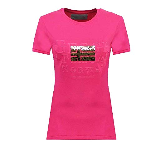 Geographical Norway JASSY SS Lady T-shirt à manches courtes pour femme ST4080F-GN-Rose-S