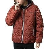 [コンバース] アウター メンズ 中綿 キルティング 撥水加工 ブルゾン ジャケット あったか 防寒 レンガ M