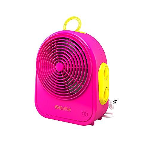 Olimpia Splendid 99525 Color Blast Termoventilatore, 2000 W, 230 V, Fuxia