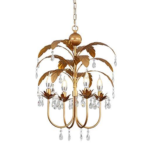 Araña de cristal Moderno K9 Lámpara colgante de cristal Lámpara de araña ajustable Accesorio de iluminación para comedor Sala de estar Casa de campo Bar