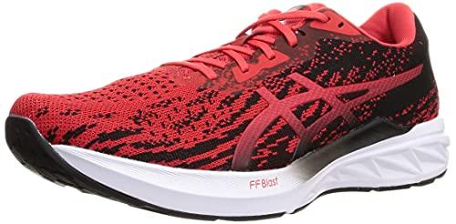 Asics Dynablast 2, Zapatillas para Correr Hombre, Electric Red/Black, 43.5 EU