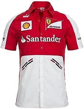 Scuderia Ferrari Patrocinadores Team Camisa, PUMA, fórmula 1, F1, Rojo, Kimi Räikkönen, Fernando Alonso