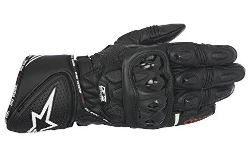 Alpinestars GP Plus R Herren-Handschuhe, Leder, Größe M, Schwarz