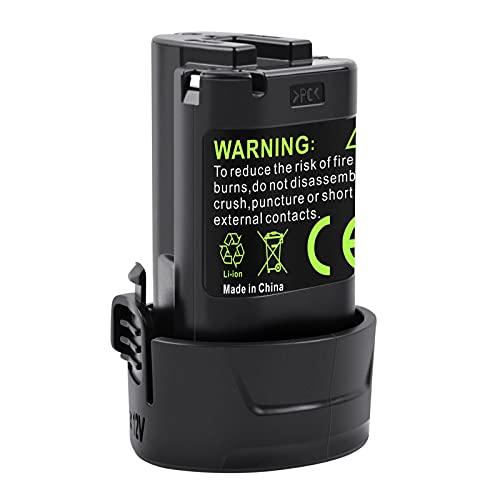 iPrize 10,8V 3,5Ah Batteria per Makita BL1013 BL1014 DF030D DF330D LCT203W 194550-6 194551-4 195332-9