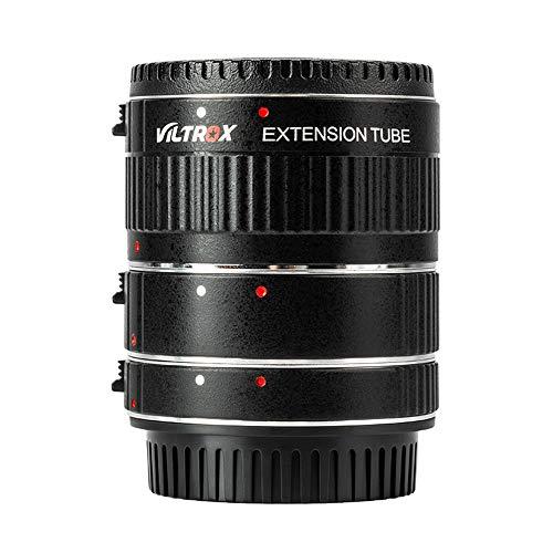 VILTROX® DG-C AF Autofokus Zwischenringe Makro Extension Tube Set 12 mm 20 mm und 36 mm für Canon EOS EF EF-s Objektiv