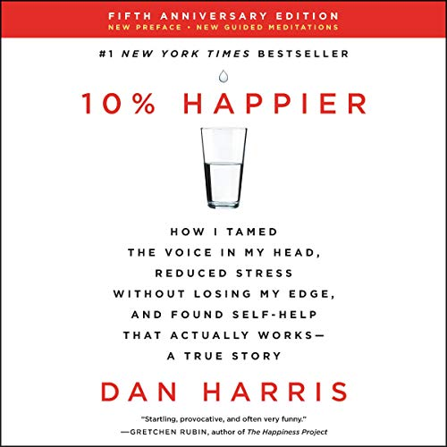 10% Happier Revised Edition audiobook cover art