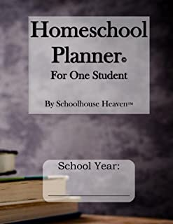 Homeschool Planner: For One Student