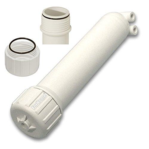 Contenitore ForHome Per Membrane Osmosi Housing 2,5' 1812, 2012 Doppio O-Ring Filetto Hight Pressure 1/8'.