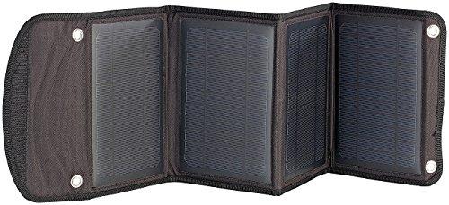 reVolt USB Solar Panel: Faltbares Ladegerät Solarpanel mit 2X USB-Port, 14 W (Solarzelle USB)