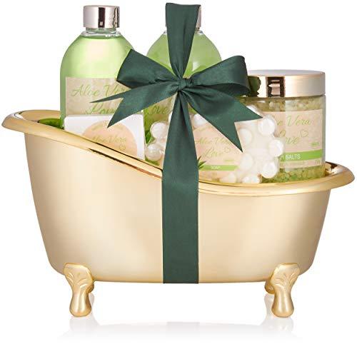 BRUBAKER 'Aloe Vera Love' Set regalo baño bañera
