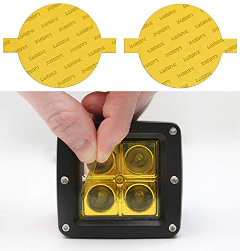 yellow fog light covers - 4