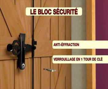 Blocco sicurezza: sistema anti-furto per persiana battenti